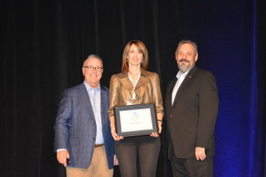 Amy Appleyard at the AA-ISP Awards