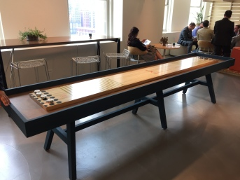 Shuffleboard Table NeoCon 2015